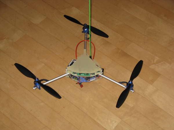 Tricopter fertig 1