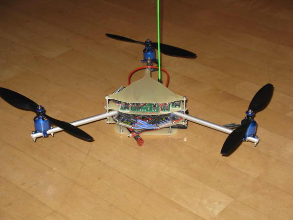 Tricopter fertig 2