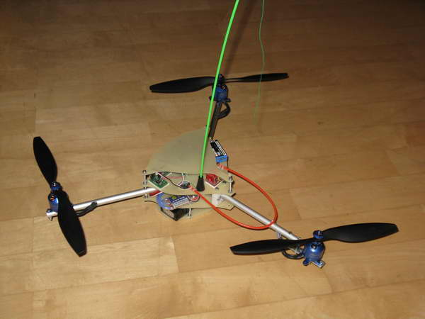 Tricopter fertig 3