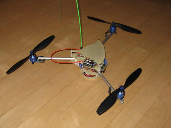Tricopter fertig 4